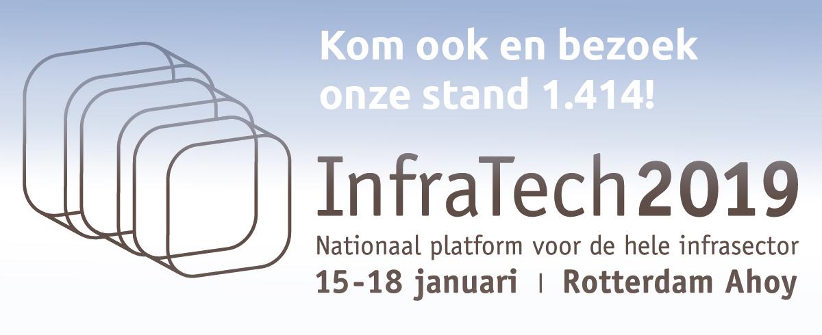 Bezoek onze stand tijdens InfraTech!
